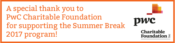 Thank you to PwC Charitable Foundation